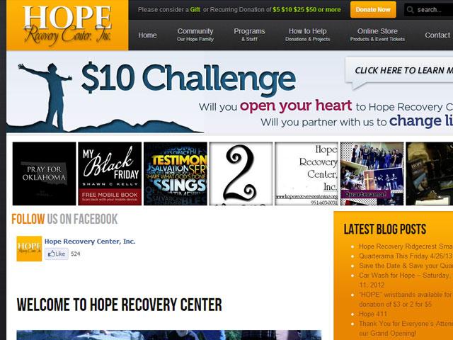 Hope Recovery Center Corona, CA